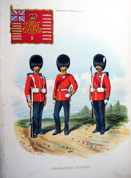 Types of the British Army. ...with Historical Notes on each Regiment. Reprinted from the Army & Navy Gazette.