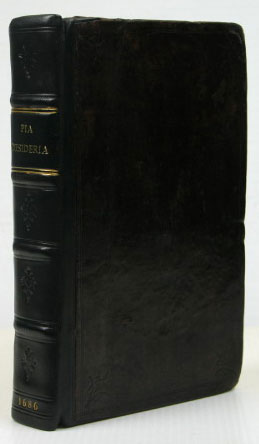Pia Desideria: or, Divine Addresses, in Three Books... Written in Latine by... Englished by Edm. Arwaker. Herman HUGO.
