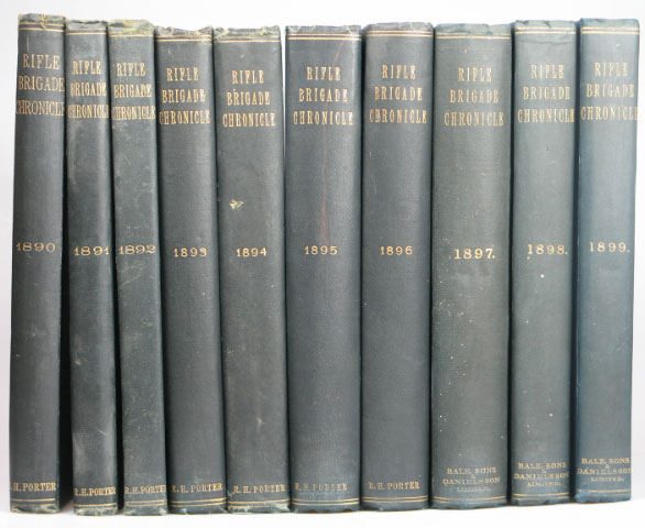 The Rifle Brigade Chronicle. [Complete Run from 1890-1965].