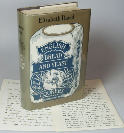 English Bread and Yeast Cookery. With illustrations by Wendy Jones. Elizabeth DAVID.