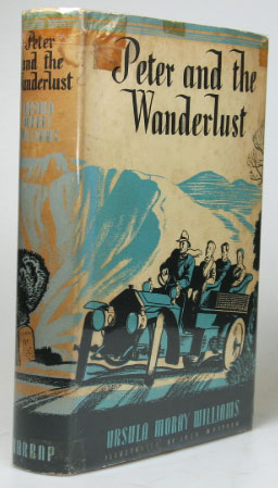 Peter and the Wanderlust. Illustrated by Jack Matthew. Ursula Moray WILLIAMS.