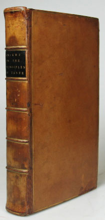 An Analytical Enquiry into the Principles of Taste. Richard Payne KNIGHT.