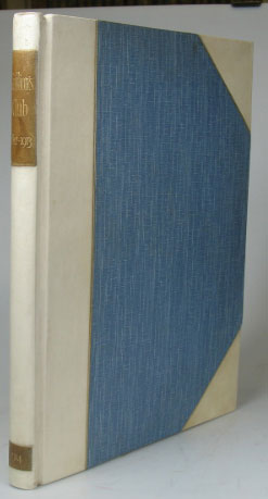 Grillion's Club. A Chronicle. 1812-1913. Compiled by the Secretaries. GRILLION'S.