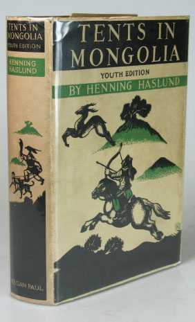 Tents in Mongolia. A Youth Edition prepared by Eleanor Graham. Henning HASLUND.
