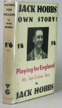 Playing for England! My Test-Cricket Story. With a Foreword by Thomas Moult. Jack HOBBS.