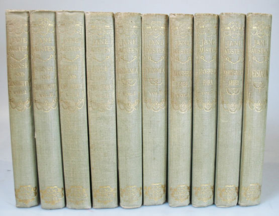 The Novels of... Sense and Sensibility. Pride and Prejudice. Mansfield Park. Emma. Northanger Abbey. Persuasion. Edited by R. Brimley Johnson with Illustrations by William C. Cooke...