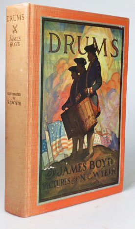 Drums. With pictures by N.C. Wyeth. WYETH, James BOYD.