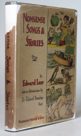 Nonsense Songs and Stories. With addition songs, and an introduction by Sir E. Strachey. Edward LEAR.