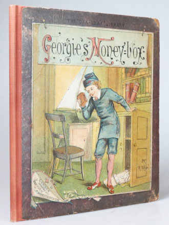 Georgie's Money-Box. Designed and Invented by. R. ANDRÉ.