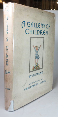 A Gallery of Children. Illustrations by Saida (H. Willebeek Le Mair). A. A. MILNE.