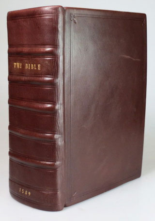 The Bible. Translated according to the Ebrew and Greeke, and conferred with the best Translations in divers Languages... [including] Two right profitable and fruitfull Concordances, or large and ample Tables Alphabeticall... Collected by [Robert F. Herrey]... [bound with] The Whole Booke of Psalmes. Collected into English Meeter, by Thomas Sternhold, Iohn Hopkins, and others... & 1634. BIBLE.