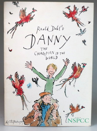 Roald's Dahl's Danny the Champion of the World. In aid of NSPCC. Thursday 27th July at 11am. The Odeon West End, Leicester Square. DAHL.