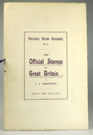 The Official Stamps of Great Britain. I. J. BERNSTEIN.