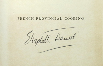French Provincial Cooking. Illustrated by Juliet Henry. Elizabeth DAVID.