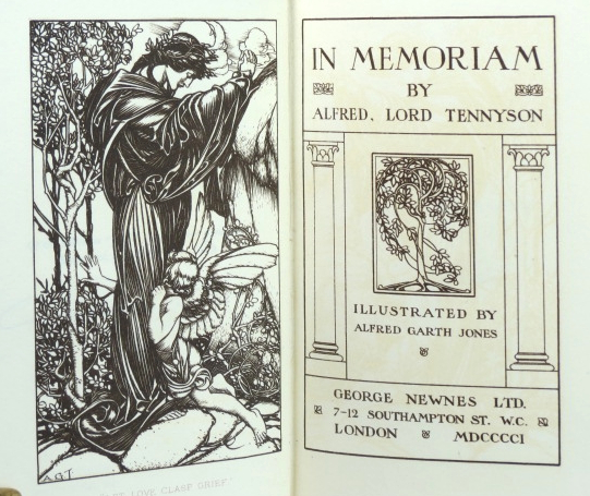 In Memoriam. Illustrated by Alfred Garth Jones. Alfred TENNYSON, Lord.