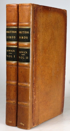 History of British Birds. The Figures Engraved on wood by... The History and Description of Land Birds. ...Water Birds.