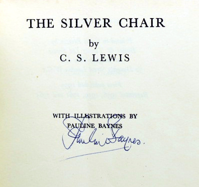The Silver Chair. With illustrations by Pauline Baynes. C. S. LEWIS.