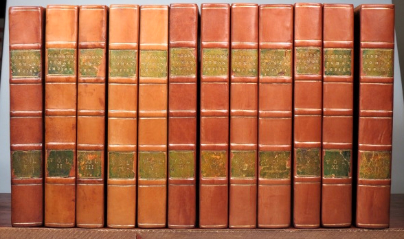 The History of the Decline and Fall of the Roman Empire. [with] The Miscellaneous Works of... with Memoirs of his Life and Writings... with occasional notes and narrative by... John, Lord Sheffield. Edward GIBBON.