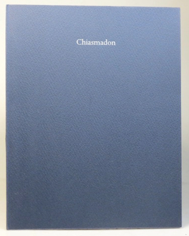 Chiasmadon, with a relief print by Claire Van Vliet. Ted HUGHES.