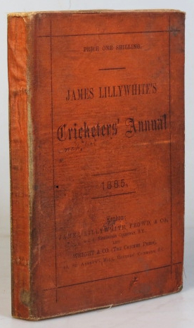 "James Lillywhite's Cricketers' Annual for 1886. With which is incorporated ""James Lillywhite's Companion and Guide to Cricketers"" Charles W. ALCOCK."
