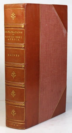 Explorations in South-west Africa. Being an account of a journey in the years 1861 and 1862 from Walvisch Bay, on the western coast, to Lake Ngami and the Victoria Falls. Thomas BAINES.