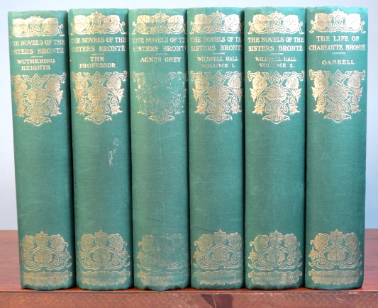 Novels of the Sisters Brontë. Jane Eyre. Shirley. Villette. The Professor. Wuthering Heights. Agnes Grey. The Tenant of Wildfell Hall. [with] GASKELL, Elizabeth. The Life of Charlotte Brontë. Edited by Temple Scott. Charlotte BRONTË, Anne, Emily.