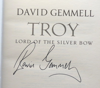 Troy. Lord of the Silver Bow. David GEMMELL.