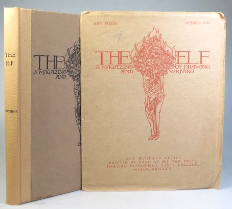 The Elf. A Magazine of Drawings and Writings by... [New Series]... [with a separate issue of number one]. PEAR TREE PRESS, James GUTHRIE.