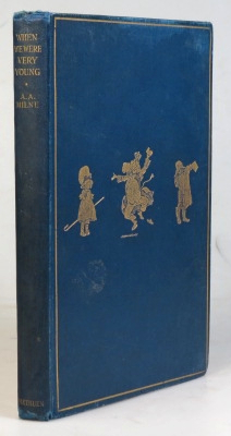 When We Were Very Young. With Decorations by Ernest Shepard. A. A. MILNE.
