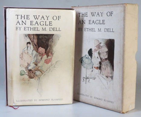The Way of an Eagle. (Illustrated by Edmund Blampied). Ethel M. DELL.