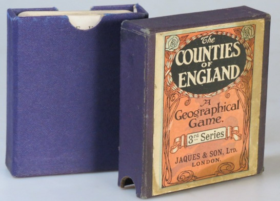 The Counties of England. 3rd Series. JAQUES, SON LTD.