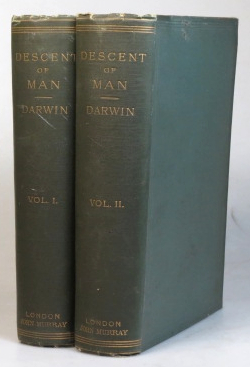 The Descent of Man, and Selection in Relation to Sex. Charles DARWIN.