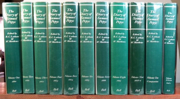 The Diary of... A new and complete transcription edited by Robert Latham and William Matthews. Samuel PEPYS.