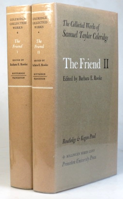 The Friend. Edited by Barbara E. Rooke. Samuel Taylor COLERIDGE.