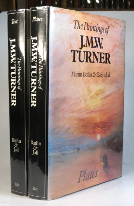 The Paintings of J.M.W. Turner. Text. Plates. TURNER, Martin BUTLIN, Evelyn JOLL.
