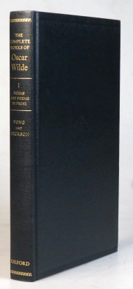 Poems and Poems in Prose. Edited by Bobby Fong and Karl Beckson. Oscar WILDE.
