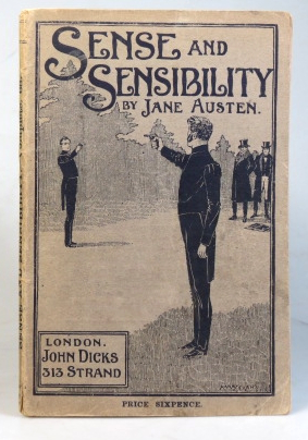 Sense and Sensibility. A Novel. With seven illustrations by Harry Evans. Jane AUSTEN.