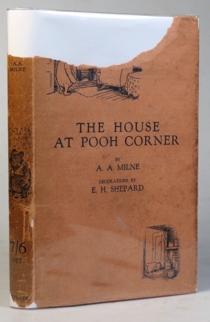 The House at Pooh Corner. With Decorations by Ernest H. Shepherd. A. A. MILNE.