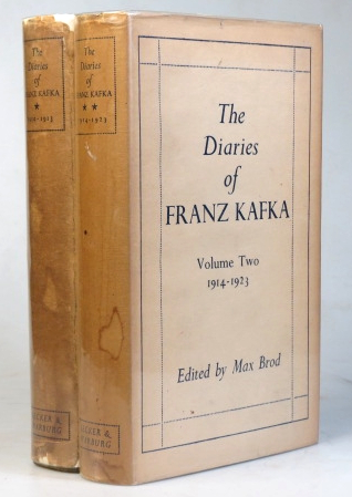 The Diaries of... 1910-1919. 1914-1923. (Translated from the German by Joseph Kresh). Franz KAFKA.