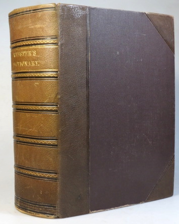 Webster's Complete Dictionary of the English Language. With various literary appendices and numerous additional illustrations. Thoroughly revised and improved by Chauncey A. Goodrich and Noah Porter, assisted by Dr. C.A.F. Mahn. WEBSTER'S.