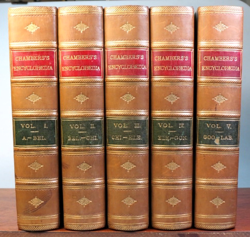Chambers's Encyclopædia. A Dictionary of Universal Knowledge for the People... Revised Edition. ENCYCLOPÆDIA.