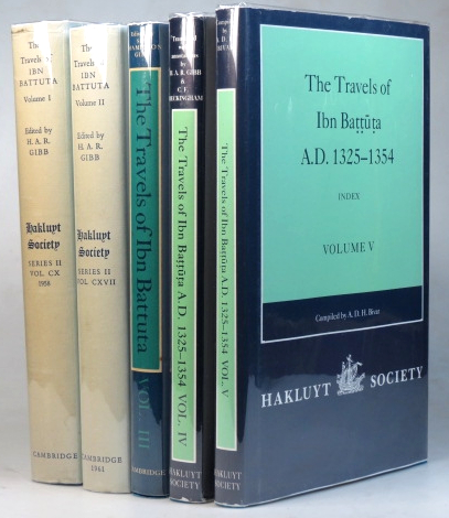 The Travels of... Translated with Revisions and Notes from the Arabic Text Edited by C. Defrémery and B.R. Sanguinetti by H.A.R. Gibb. Ibn BATTUTA.