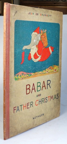 Babar and Father Christmas. Jean DE BRUNHOFF.