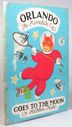 Orlando the Marmalade Cat Goes to the Moon. Kathleen HALE.