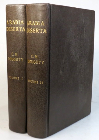 Travels in Arabia Deserta. With an Introduction by T.E. Lawrence. New and definitive edition. Charles M. DOUGHTY.