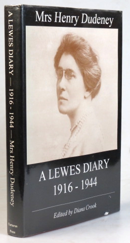 A Lewes Diary. Edited by Diana Crook. SUSSEX, Mrs. Henry DUDENEY.