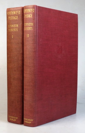 Northwest Passage. [with] Appendix. Containing the Courtmartial of Major Robert Rogers, the Courtmartial of Lt. Samuel Stephens and other New Material. Kenneth ROBERTS.