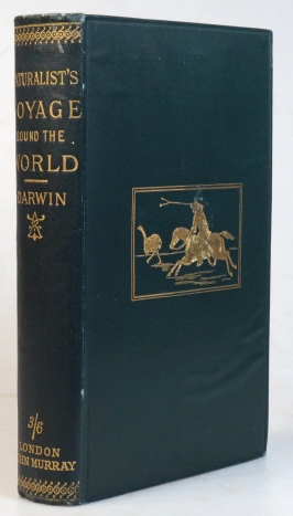 A Naturalist's Voyage. Journal of Researches, into the Natural History and Geology of the Countries visited during the Voyage round the World of HMS Beagle, under the Command of Captain Fitz Roy. Charles DARWIN.