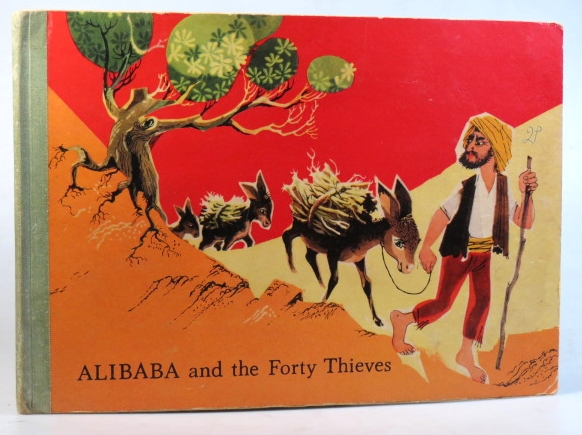 Alibaba and the Forty Thieves. POP-UP.