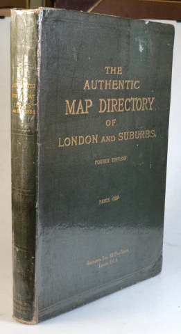 The Authentic Map Directory of London and Suburbs. James BAIN.